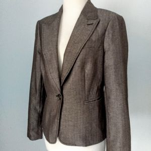 The Limited brown fitted blazer